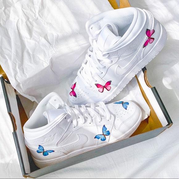 Nike Shoes   Nike Custom Air Jordan Mid